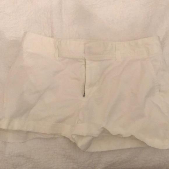 GAP Pants - White dress jean shorts